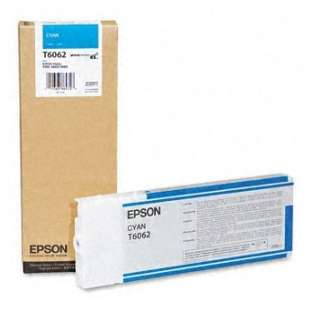 Original Epson T606200 high quality inkjet cartridge - ultrachrome cyan