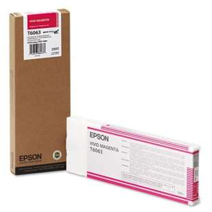Original Epson T606300 high quality inkjet cartridge - ultrachrome magenta