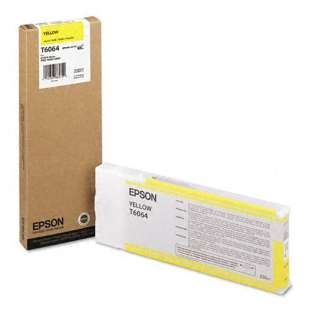 Original Epson T606400 high quality inkjet cartridge - ultrachrome yellow