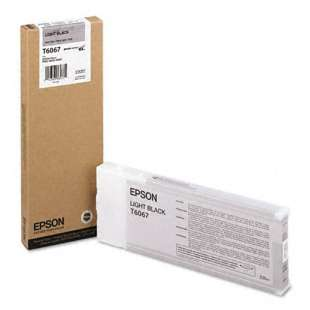 Original Epson T606700 high quality inkjet cartridge - ultrachrome black