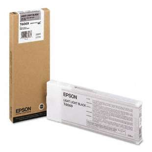 Original Epson T606900 high quality inkjet cartridge - ultrachrome light light black