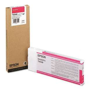 Original Epson T606B00 high quality inkjet cartridge - ultrachrome K3 magenta