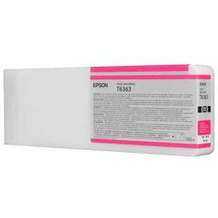 Original Epson T636300 high quality inkjet cartridge - ultrachrome vivid magenta