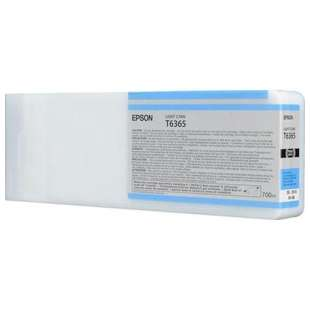 Original Epson T636500 high quality inkjet cartridge - ultrachrome light cyan