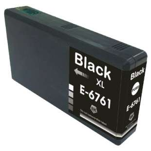 Remanufactured Epson T676XL120 (676XL ink) high quality inkjet cartridge - high capacity pigmented black