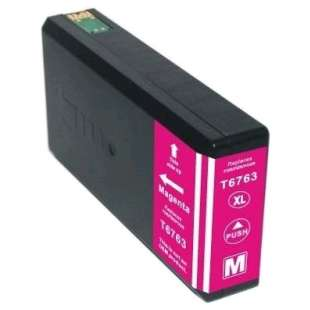Remanufactured Epson T676XL320 (676XL ink) high quality inkjet cartridge - high capacity pigmented magenta