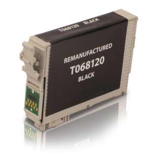 Remanufactured Epson T068120 (68 ink) high quality inkjet cartridge - high capacity black