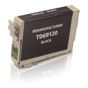 Remanufactured Epson T069120 (69 ink) high quality inkjet cartridge - black cartridge