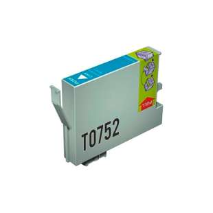 Remanufactured Epson T0752 high quality inkjet cartridge - cyan
