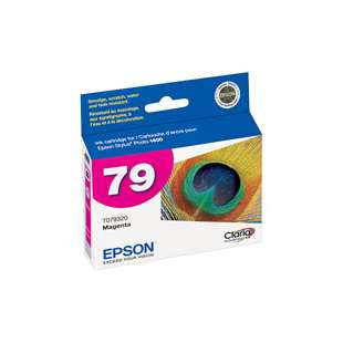 Original Epson T079320 (79 ink) high quality inkjet cartridge - magenta