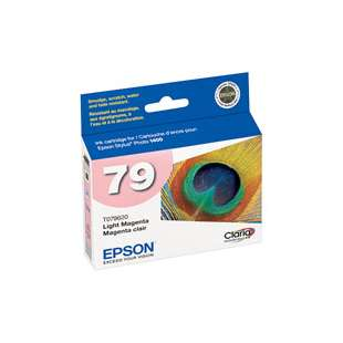 Original Epson T079620 (79 ink) high quality inkjet cartridge - light magenta