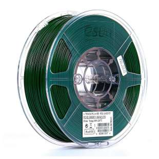 eSUN 1.75mm PLA PRO (PLA+) 3D Printer Filament 1KG Spool (2.2lbs), Pine Green