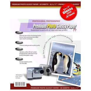 Glossy 9mil Photo Printer Paper (40pcs / pack)