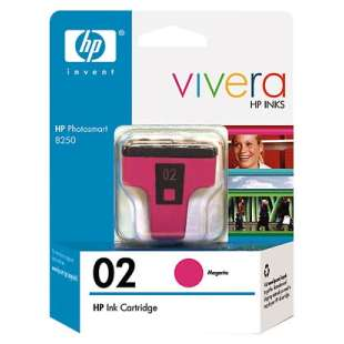 Original Hewlett Packard (HP) C8772WN (HP 02 ink) high quality inkjet cartridge - magenta