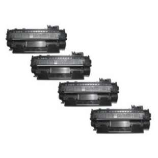 Compatible for HP CE505A (05A) toner cartridges - 4-pack