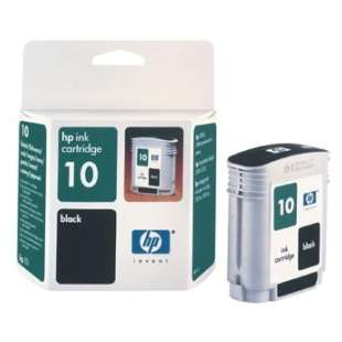 Original Hewlett Packard (HP) C4844A (HP 10 ink) high quality inkjet cartridge - black cartridge
