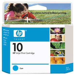 Original Hewlett Packard (HP) C4841A (HP 10 ink) high quality inkjet cartridge - cyan
