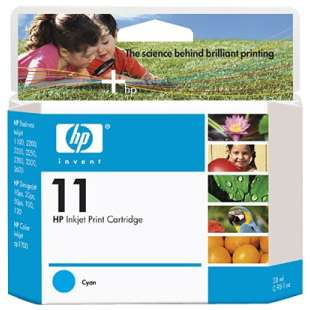 Original Hewlett Packard (HP) C4836AN (HP 11 ink) high quality inkjet cartridge - cyan