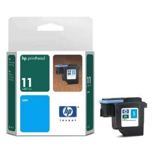 Original Hewlett Packard (HP) C4811A (HP 11 ink) high quality inkjet cartridge - cyan