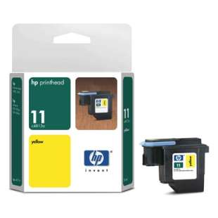 Original Hewlett Packard (HP) C4813A (HP 11 ink) high quality inkjet cartridge - yellow