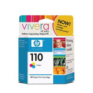 Original Hewlett Packard (HP) CB304AN (HP 110 ink) high quality inkjet cartridge - color cartridge