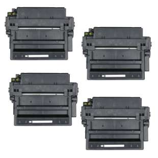 Compatible HP Q6511X (11X) toner cartridges - 4-pack