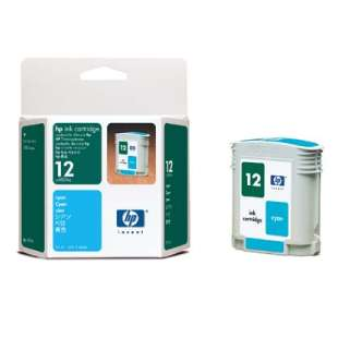 Original Hewlett Packard (HP) C4804A (HP 12 ink) high quality inkjet cartridge - cyan