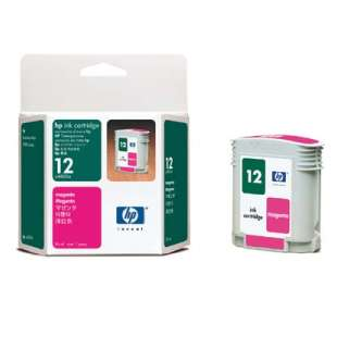 Original Hewlett Packard (HP) C4805A (HP 12 ink) high quality inkjet cartridge - magenta