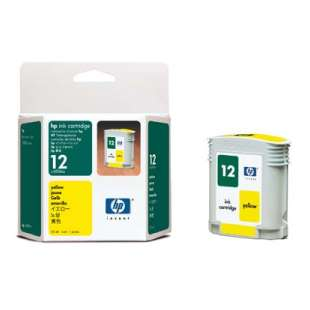 Original Hewlett Packard (HP) C4806A (HP 12 ink) high quality inkjet cartridge - yellow