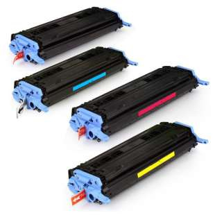 Compatible HP 124A toner cartridges - 4-pack