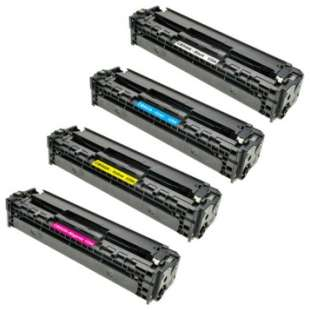 HP Compatible Cartridge for HP 125A toner cartridges - 4-pack