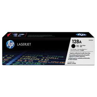 Original Hewlett Packard (HP) CE320A (128A) toner cartridge - black cartridge