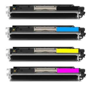 Compatible HP 130A toner cartridges - 4-pack