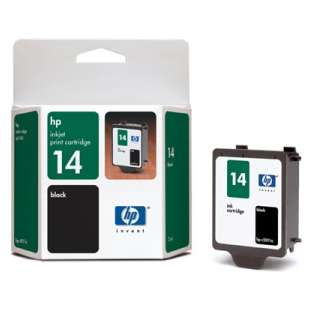 Original Hewlett Packard (HP) C5011DN (HP 14 ink) high quality inkjet cartridge - black cartridge