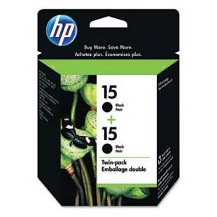 Original Hewlett Packard (HP) C6653FN (HP 15) Multipack - 2 pack