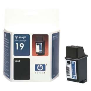 Original Hewlett Packard (HP) C6628AN (HP 19 ink) high quality inkjet cartridge - black cartridge