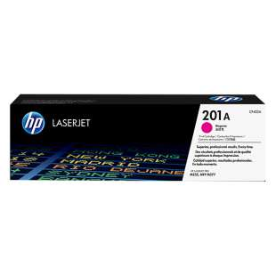 Original Hewlett Packard (HP) CF403A (201A) toner cartridge - magenta