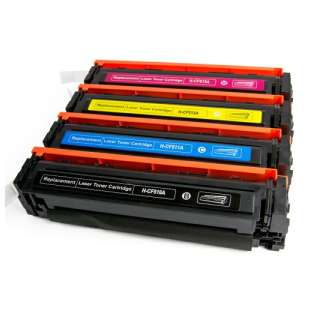 HP Compatible Cartridge for HP CF510A / CF511A / CF513A / CF512A (204A) toner cartridges - 4-pack