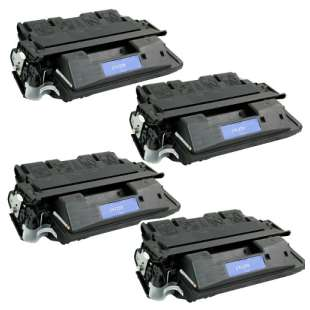 Compatible HP C4127X (27X) toner cartridges - 4-pack