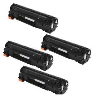 Compatible HP CF230A (30A) toner cartridges - WITH NEW CHIP - 4-pack