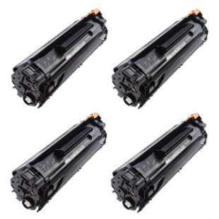 Compatible for HP CB435A (35A) toner cartridge - 4-pack