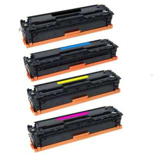 HP Compatible Cartridge for HP 410X toner cartridges - 4-pack