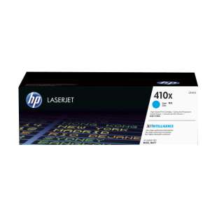 Original HP CF411X (410X) toner cartridge - high capacity cyan