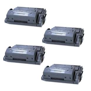 Compatible HP Q5942A (42A) toner cartridges - 4-pack