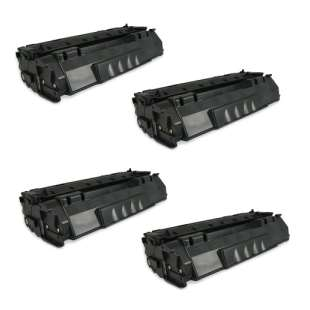 Compatible HP Q5949A (49A) toner cartridges - 4-pack