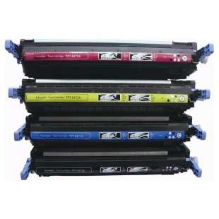 Compatible for HP 501A / 502A toner cartridges - 4-pack