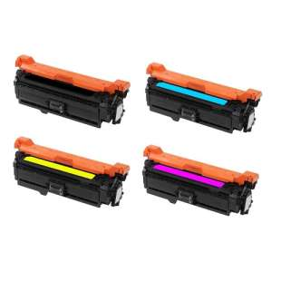 Compatible HP 507A toner cartridges - 4-pack