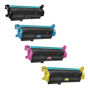 Compatible for HP 508X toner cartridges - 4-pack