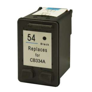 Remanufactured HP CB334AN (HP 54 ink) high quality inkjet cartridge - black cartridge