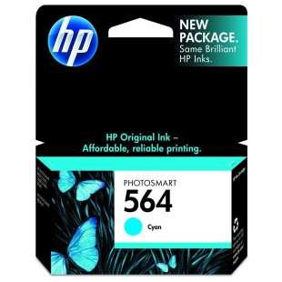 Original Hewlett Packard (HP) CB318WN (HP 564 ink) high quality inkjet cartridge - cyan